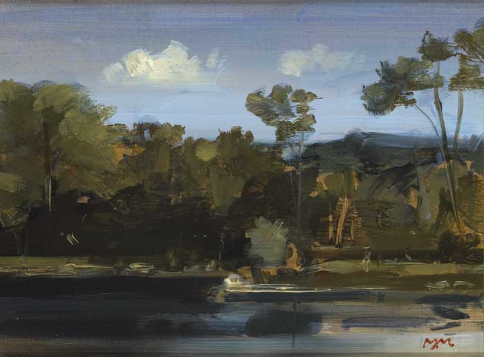 THE LAKE AT CLANDEBOYE, 2000 by Martin Mooney (b.1960) (b.1960) at Whyte's Auctions