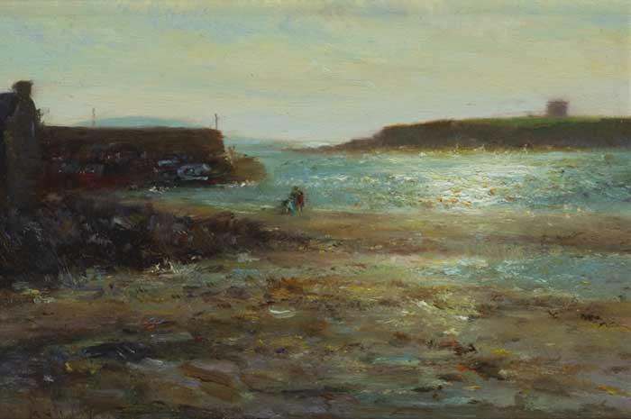 LOUGHSHINNY HARBOUR by Paul Kelly (b.1968) at Whyte's Auctions