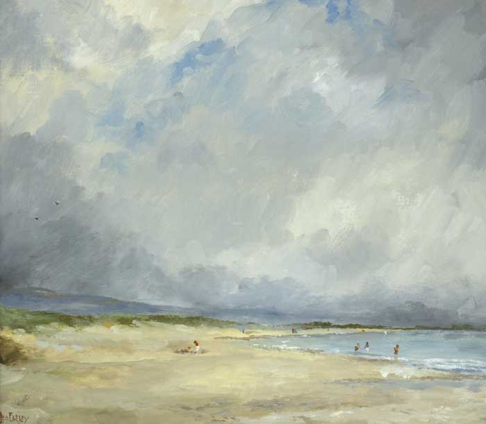BRITTAS BAY, COUNTY WICKLOW by Leo Earley (1925-2001) at Whyte's Auctions