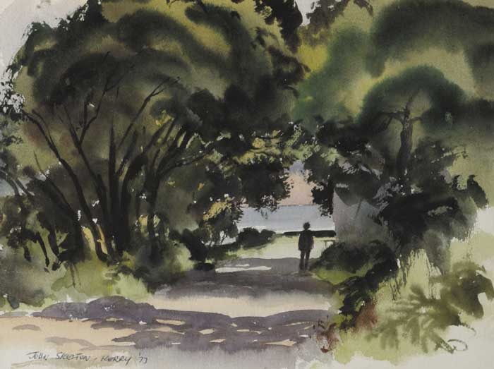 KERRY, 1973 and WOMAN IN A WOOD (A PAIR) by John Skelton (1923-2009) at Whyte's Auctions