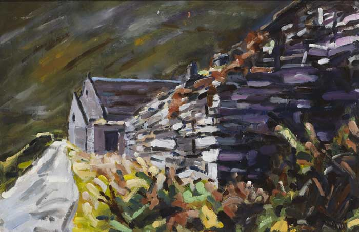 CILL RIALAIG, COUNTY KERRY by Michael Hanrahan (b.1951) at Whyte's Auctions
