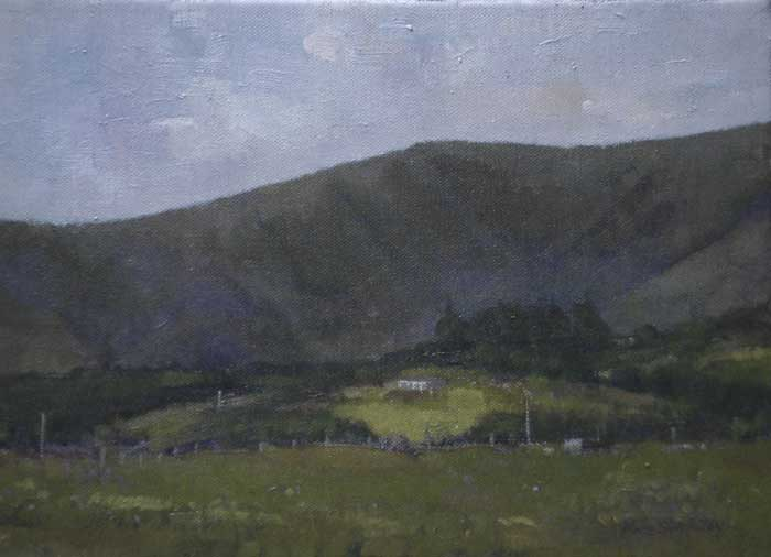 COOMSAHARAN, NEAR GLENBEIGH, COUNTY KERRY by Rose Stapleton WCSI (b.1951) at Whyte's Auctions