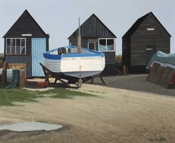 SOUTHWOLD, SUFFOLK by Eric Patton RHA (1925-2004) at Whyte's Auctions