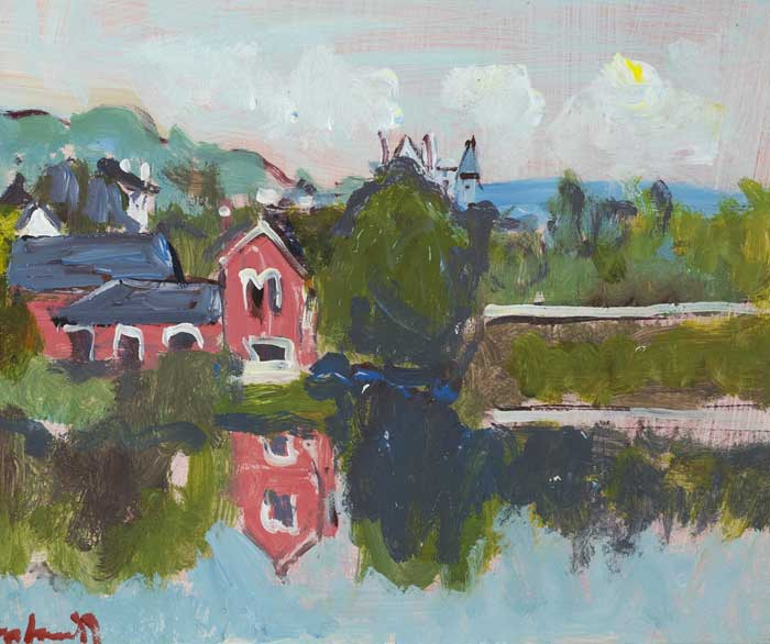 DALY'S BRIDGE, SUNDAY'S WELL, CORK by Marie Carroll (unspecified - 2016) at Whyte's Auctions