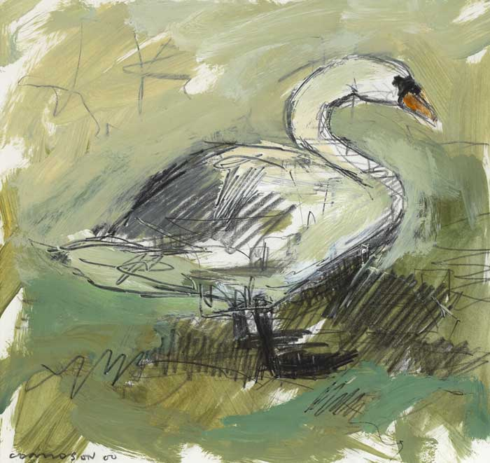 SWAN, 2000 by Colin Davidson RUA (b.1968) at Whyte's Auctions
