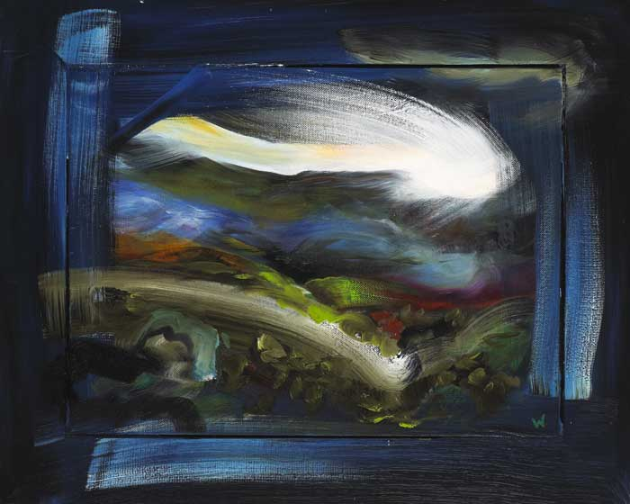 INTUITIVE WINDOW (BLUE), 2006-2007 by Patrick Walshe (b.1952) at Whyte's Auctions