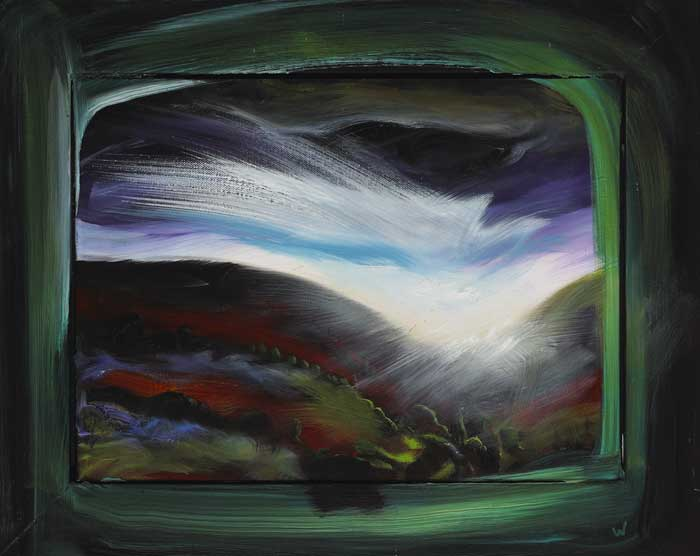 INTUITIVE WINDOW (GREEN), 2006-2007 by Patrick Walshe (b.1952) at Whyte's Auctions