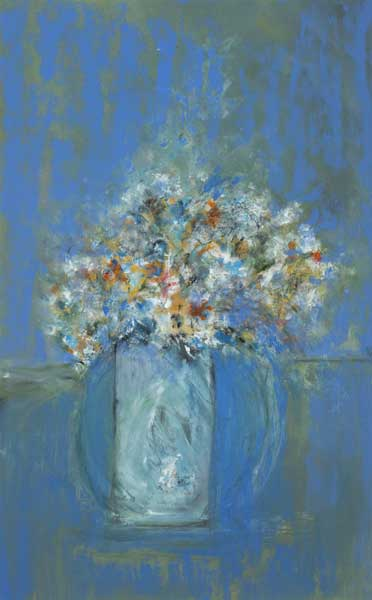 STILL LIFE IN BLUE by Noel Sheridan (1936-2006) at Whyte's Auctions