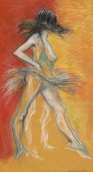 BALLET DANCER, 1971 by Donal O'Sullivan (1945-1991) (1945-1991) at Whyte's Auctions