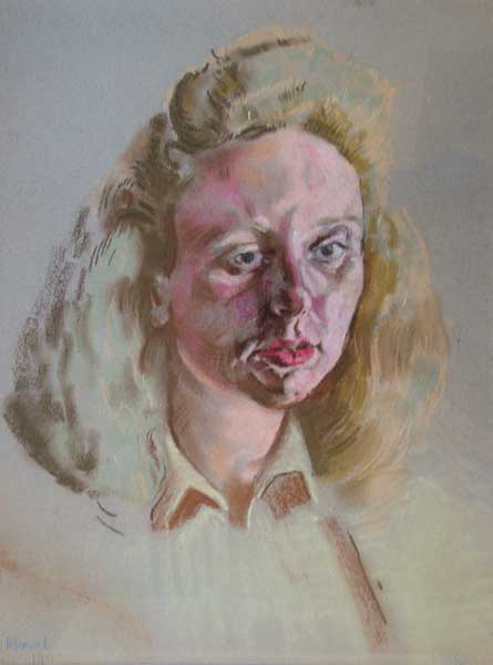 PORTRAIT OF PHYLLIS, RUSH, 1942 by Patrick Leonard HRHA (1918-2005) at Whyte's Auctions