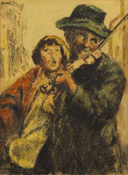 SINGING A TUNE by William Conor OBE RHA RUA ROI (1881-1968) at Whyte's Auctions