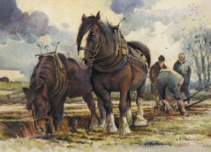 SETTING THE HEAD by Bobby Anderson sold for �480 at Whyte's Auctions