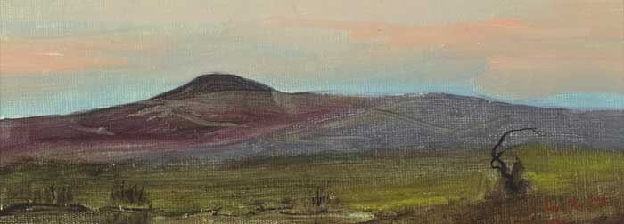 COUNTY WESTMEATH, 1997 and COUNTY SLIGO LANDSCAPE, 1996 by Adam Kos sold for �200 at Whyte's Auctions