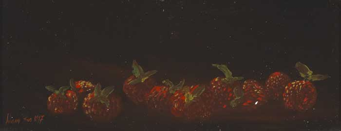 STILL LIFE WITH STRAWBERRIES, 1996/1997 (A PAIR) by Adam Kos sold for �200 at Whyte's Auctions