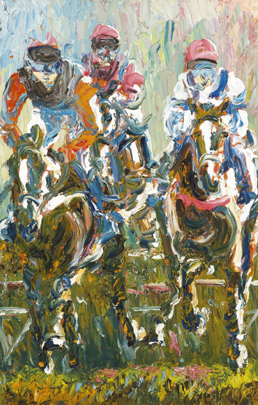 HORSES by Liam O'Neill (b.1954) at Whyte's Auctions