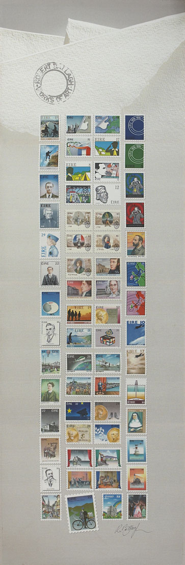 STAMP DESIGNS by Robert Ballagh (b.1943) at Whyte's Auctions