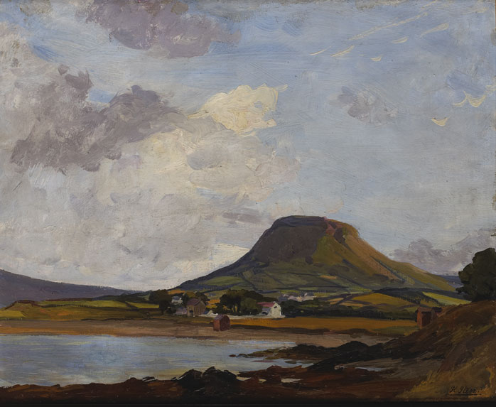 VIEW OF CUSHENDALL, COUNTY ANTRIM by Hans Iten sold for �2,000 at Whyte's Auctions