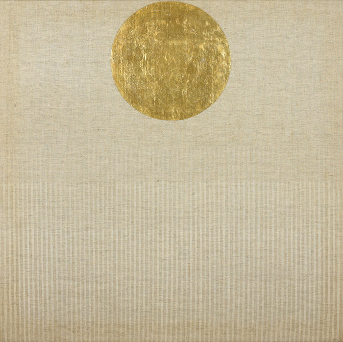 GOLD PAINTING 17/91 by Patrick Scott HRHA (b.1921) at Whyte's Auctions