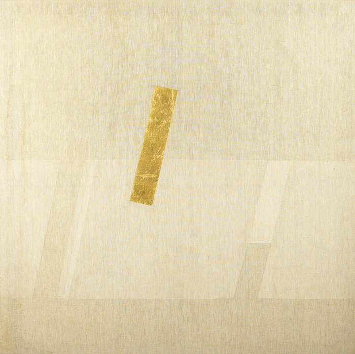 GOLD PAINTING 4, 1978 by Patrick Scott HRHA (b.1921) at Whyte's Auctions