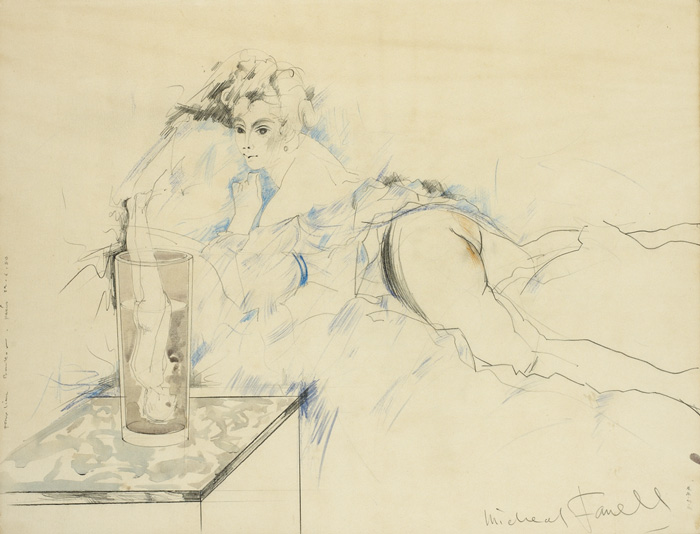 MISS O'MURPHY, 1977 by Micheal Farrell (1940-2000) at Whyte's Auctions