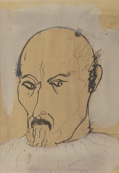 SELF PORTRAIT, c.1970s by Tony O'Malley HRHA (1913-2003) at Whyte's Auctions