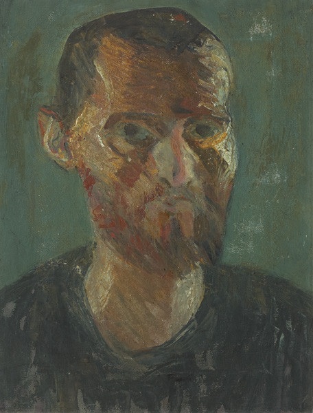 SELF PORTRAIT, 1965 by Brian Bourke HRHA (b.1936) at Whyte's Auctions