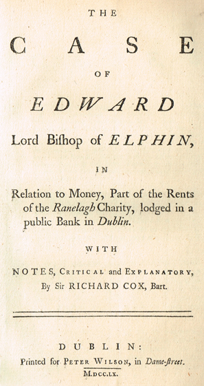 James Fenning Sale of Antiquarian Books   Whyte's - Irish