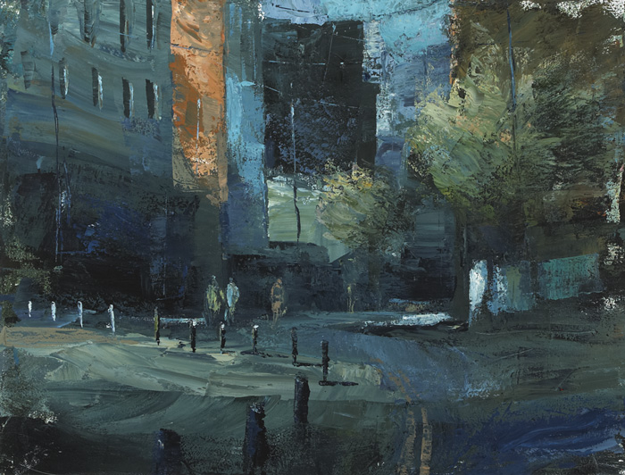 BISHOP STREET, 2000 by Donald Teskey sold for �9,000 at Whyte's Auctions