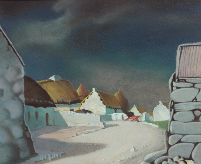 BALLINDOOLY, COUNTY GALWAY by Harry Epworth Allen sold for �2,000 at Whyte's Auctions