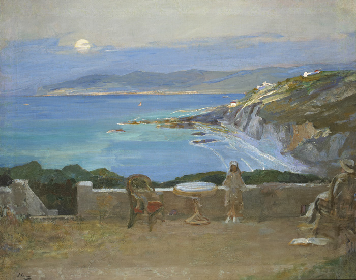 THE RISING MOON, TANGIER, 1912 by Sir John Lavery sold for �80,000 at Whyte's Auctions