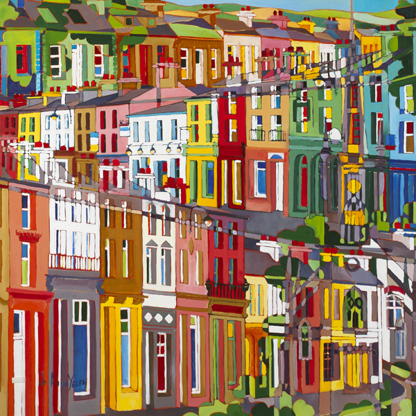 THRU TOWN by Jo-Anne Yelen (b.1959) at Whyte's Auctions