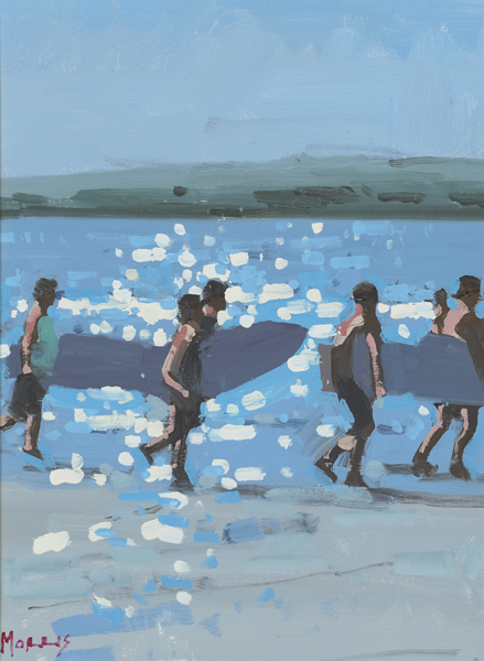 SURFERS, 2011 by John Morris (b.1958) at Whyte's Auctions
