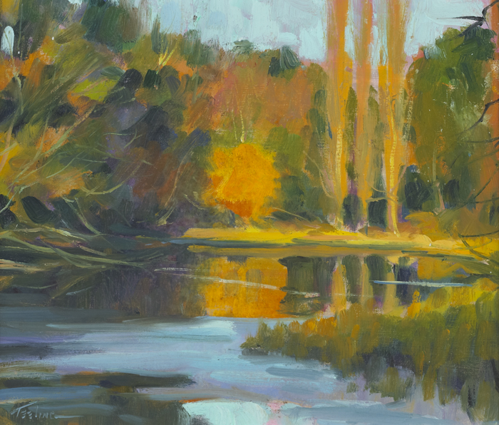 AUTUMN, THE FURRY GLEN, DUBLIN, 2012 by Norman Teeling (b.1944) at Whyte's Auctions