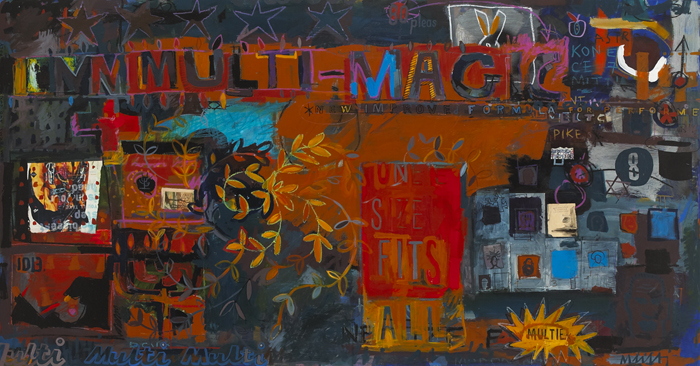 MULTIMAGIC by David Quinn sold for �220 at Whyte's Auctions
