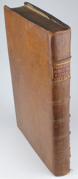 1694: De Pictura Veterum libri tres by Franciscus Junius. at Whyte's Auctions