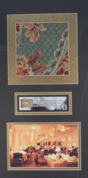 1912 15 April Piece Of Carpet From The Film Titanic