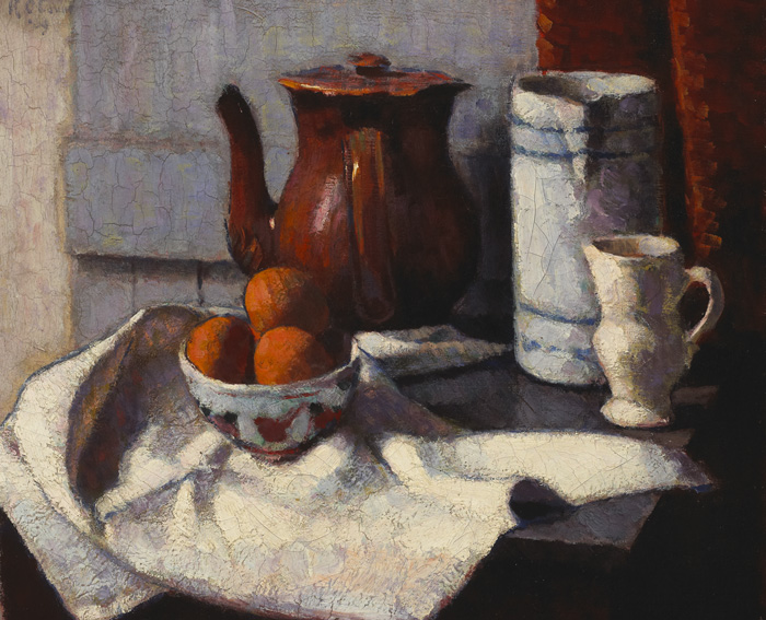 NATURE MORTE, c.1909 by Roderic O'Conor sold for �30,000 at Whyte's Auctions