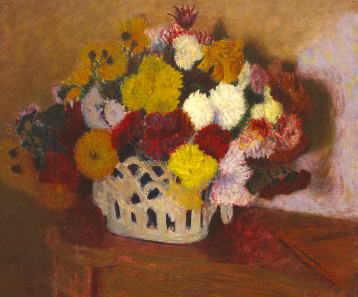 CHRYSANTHEMUMS, 1896 by Roderic O'Conor sold for �19,000 at Whyte's Auctions