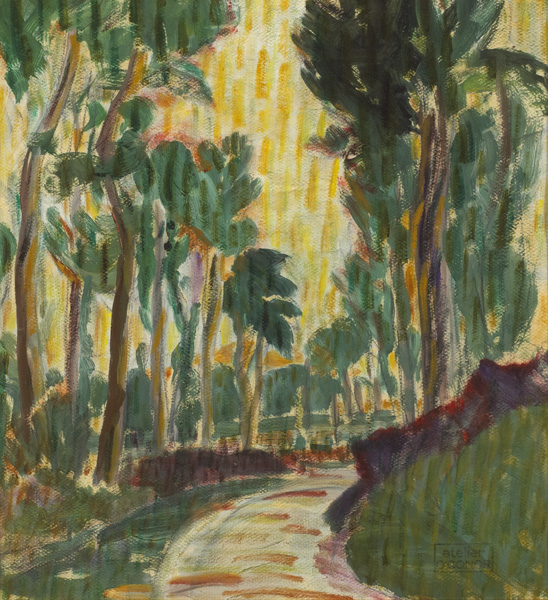 AVENUE OF TREES by Roderic O'Conor sold for �10,500 at Whyte's Auctions
