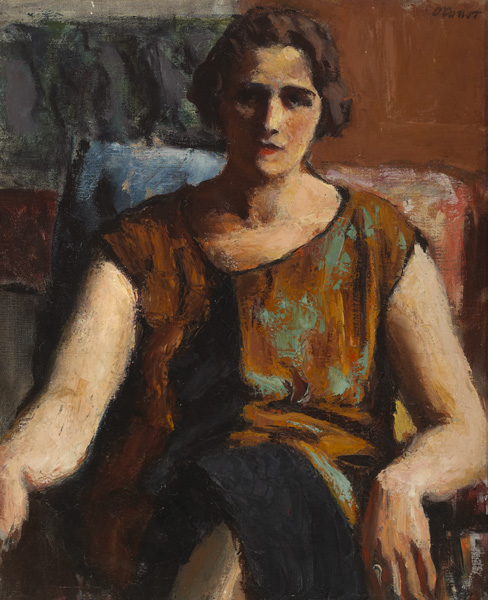 SEATED MODEL, c.1923-1926 by Roderic O'Conor sold for �9,000 at Whyte's Auctions