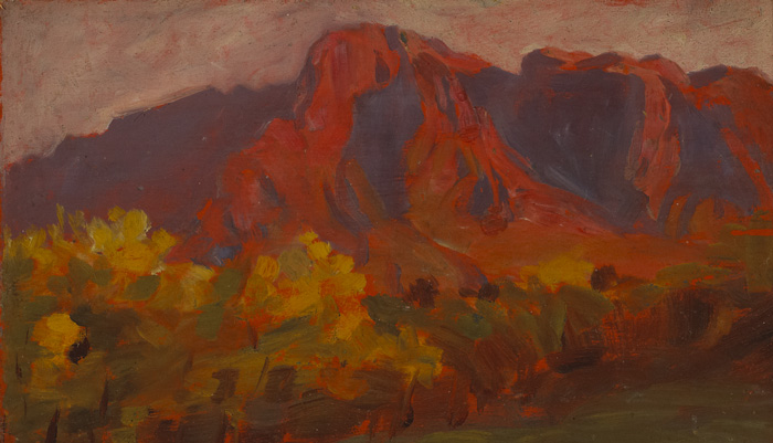 MONTAGNE SAINTE-VICTOIRE, FRANCE by Roderic O'Conor sold for �4,800 at Whyte's Auctions
