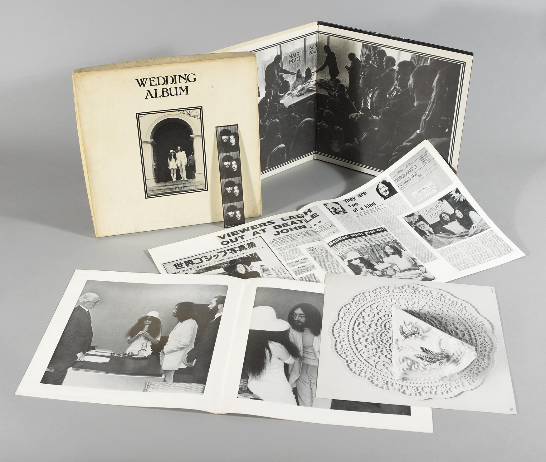 John Lennon And Yoko Ono The Wedding Album 1969 At Whyte S Auctions Whyte S Irish Art Collectibles