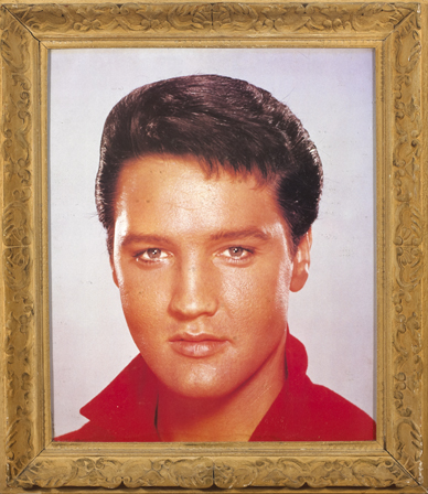 Elvis Presley: Large portrait poster and other memorabilia at ...
