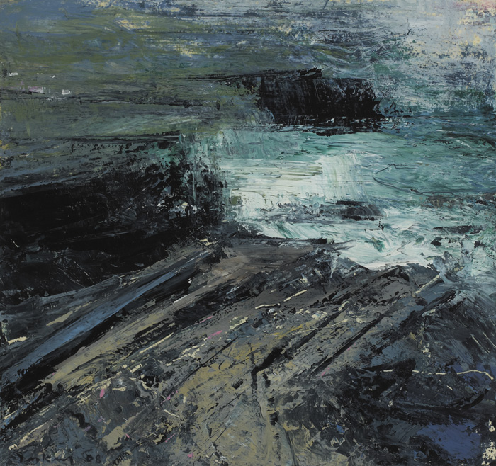 COASTLINE, VALENTIA ISLAND, 2008 by Donald Teskey sold for �3,800 at Whyte's Auctions