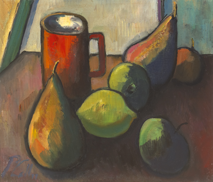 STILL LIFE WITH MUG by Peter Collis RHA (1929-2012) at Whyte's Auctions