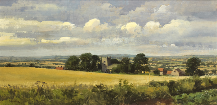 "PROSPECT OF THE GOLDEN VALE"", COUNTY TIPPERARY (SOUTH RIDING)"" by Peter Curling (b.1955) at Whyte's Auctions"