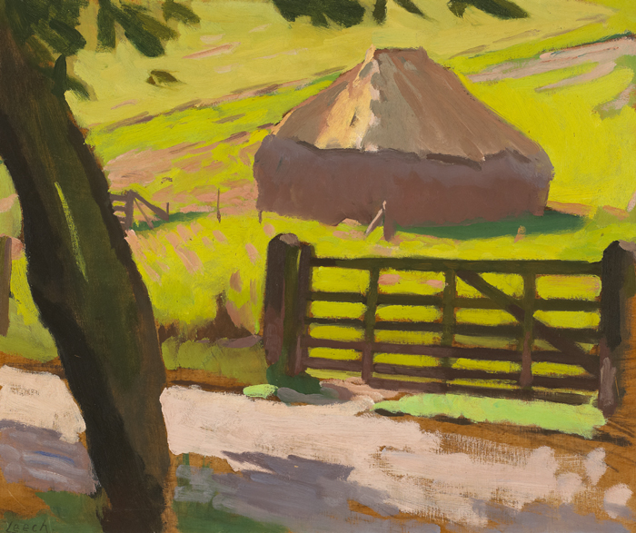 HAYSTACK by William John Leech sold for �10,000 at Whyte's Auctions