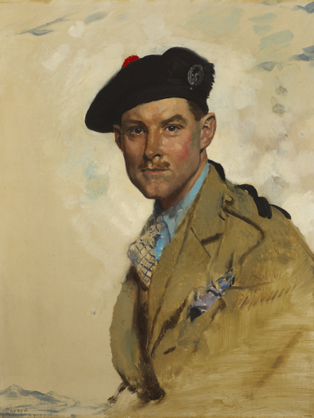PORTRAIT OF CAPTAIN COLIN DAVID BRODIE, 1928 by Sir William Orpen sold for �34,000 at Whyte's Auctions