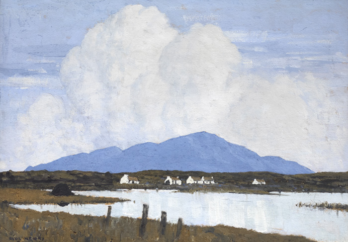 THE LAKE, 1928 by Paul Henry sold for �93,000 at Whyte's Auctions