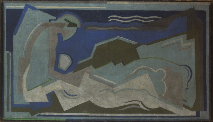 DEATH OF PROCRIS, 1929 by Mainie Jellett sold for �32,000 at Whyte's Auctions